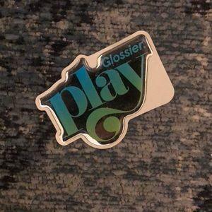 Glossier Play jelly sticker